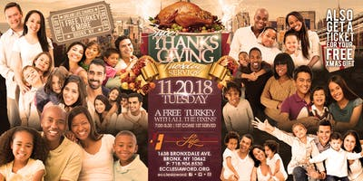 Super Tuesday Thanksgiving Blessing Service