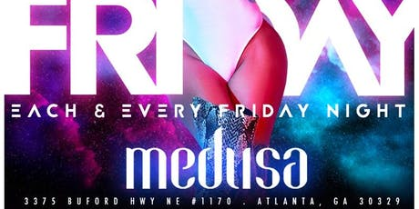 Apex Fridays at Medusa tickets