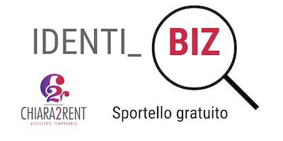 IDENTI_BIZ - Sportello gratuito
