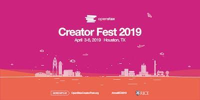OpenStax Creator Fest 2019