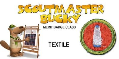 Textile Merit Badge - Class 2018-12-15 - Saturday AM - Boy Scouts of America