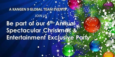 Kangen 9 Global Team Enagic Distributors and Guest  Spectacular 4th Annual Christmas Gala Party  and Entertainment Celebration Event