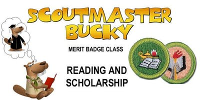 Reading AND Scholarship Merit Badges - Class 2018-12-15 - Saturday PM - Boy Scouts of America