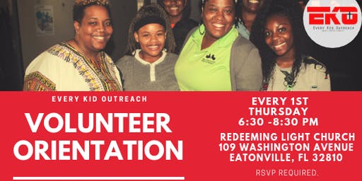 EKO Volunteer Orientation