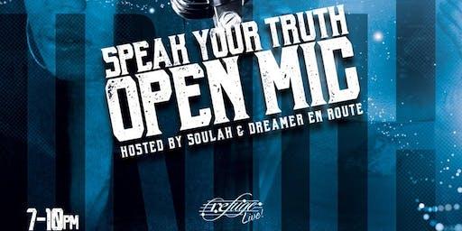 Speak Your Truth Open Mic