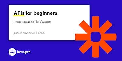 API for beginners - free workshop