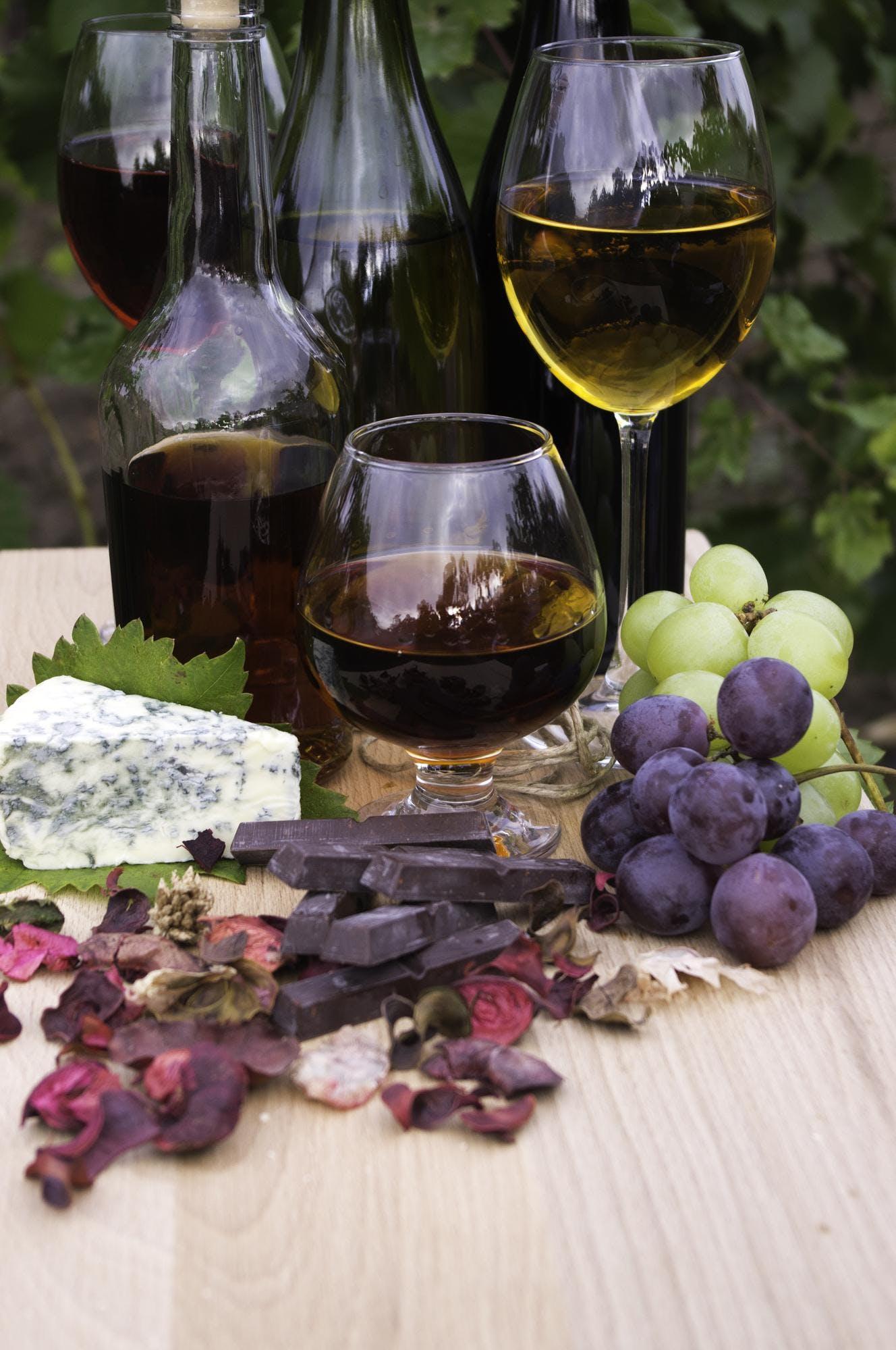 Wine, Chocolate & Cheese