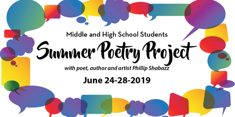 Summer Poetry Project for Middle and High School Students tickets