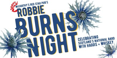 Robbie Burns Night Celebration