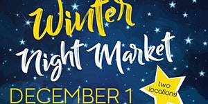 New West Winter Arts & Crafts Night Market - Wine,...