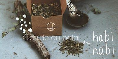 Novembre, plantes et coton   Atelier d\