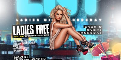Ladies Night Thursday @Oo Bar & Lounge