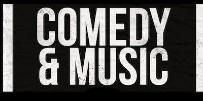Comedy> Tim Sullivan - Music> The Skunk River Band