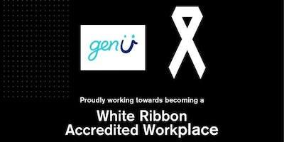 genU & NDIA White Ribbon Morning Tea 2018