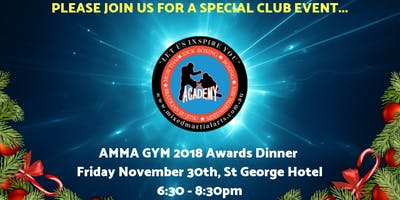 2018 AMMA GYM AWARDS AND DINNER EVENT