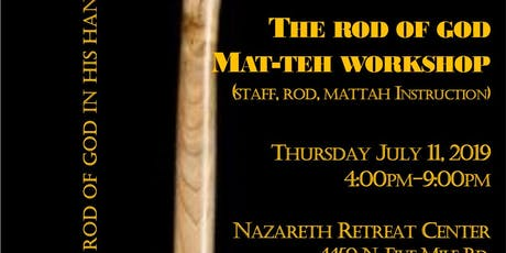 Rod of God Mat-teh Sticks Workshop tickets