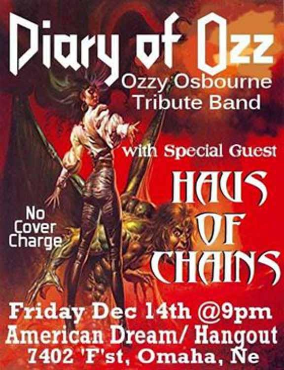 Diary of Ozz & Haus of Chains at the Hangout