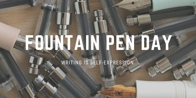 MeetUp: Fountain Pen Day