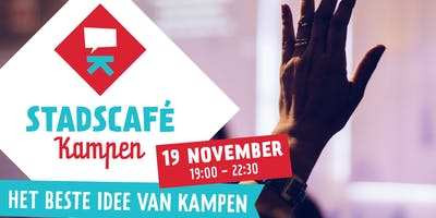 Stadscafé Kampen 19 november: Het beste idee van Kampen
