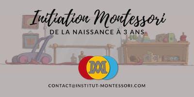 Initiation a la pedagogie Montessori