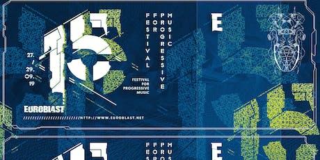 Euroblast Festival 15 / 2019 Tickets