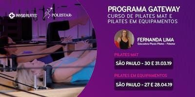 Programa Gateway - Physio Pilates Polestar - São Paulo