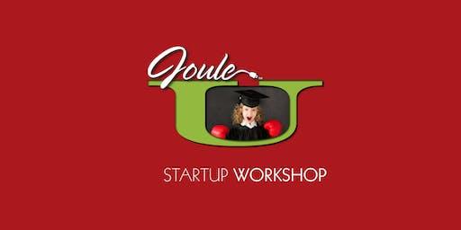 Joule  STARTUP WORKSHOP