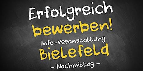 Bewerbungscoaching Infoveranstaltung Bielefeld - Nachmittag Tickets