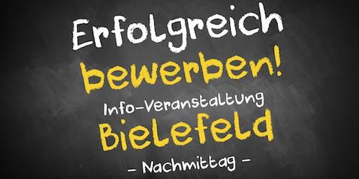 Bewerbungscoaching Infoveranstaltung Bielefeld - Nachmittag