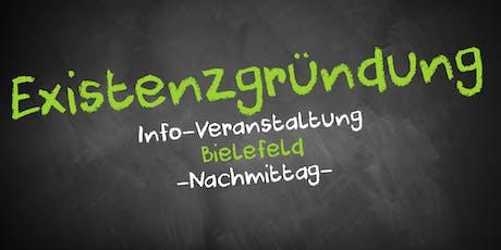 Existenzgründung Informationsveranstaltung Bielefeld Tickets