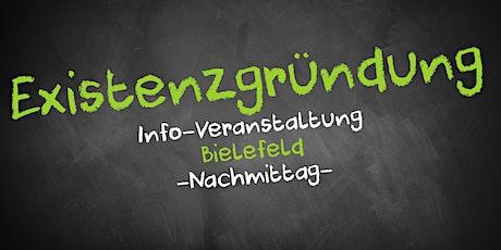 Existenzgründung Informationsveranstaltung Bielefeld (Nachmittag) Tickets