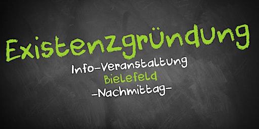 Existenzgründung Informationsveranstaltung Bielefeld (Nachmittag)