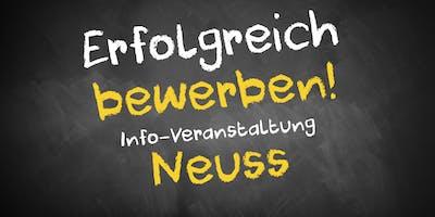 Bewerbungscoaching Infoveranstaltung Neuss