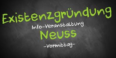 Existenzgründung Informationsveranstaltung Neuss