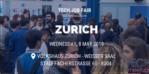 ZURICH TECH JOB FAIR SPRING 2019