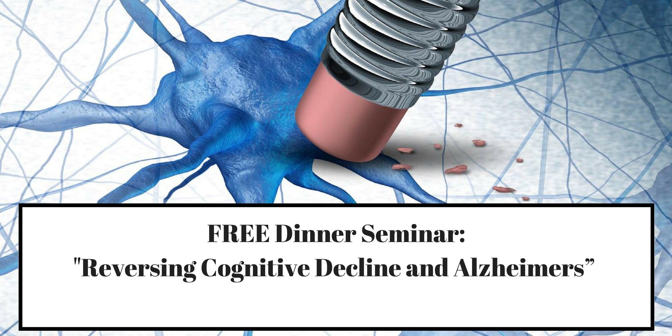 Reversing Cognitive Decline and Alzheimers -