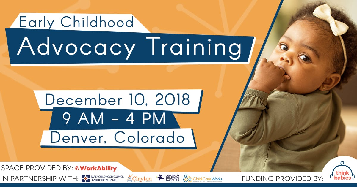 Early Childhood Advocacy Training