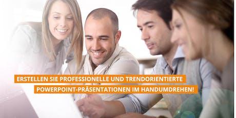 Modul I: PowerPoint Effizienztechniken & Ideenworkshop 08.10.2019 Tickets