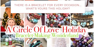 Family Holiday Bracelet Making Wonderland