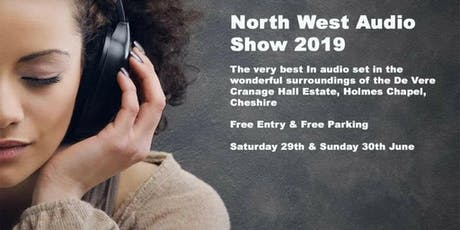 North West Audio Show 29-30 June 2019 tickets