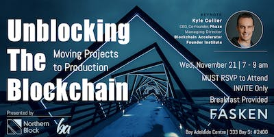 Unblocking the Blockchain: Moving Projects to Production