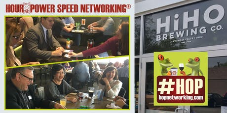 HOP with Hops! Networking Stow/Falls at HiHO Brewing 4-5 PM Monthly *Cash Bar/Open to all! tickets