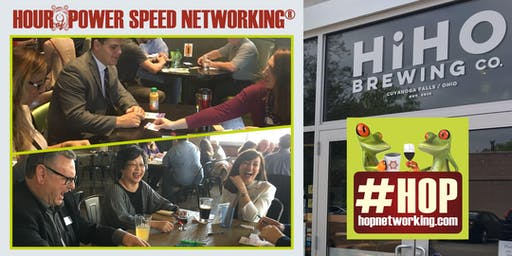 HOP with Hops! Networking Stow/Falls at HiHO Brewing 4-5 PM Monthly *Cash Bar/Open to all!