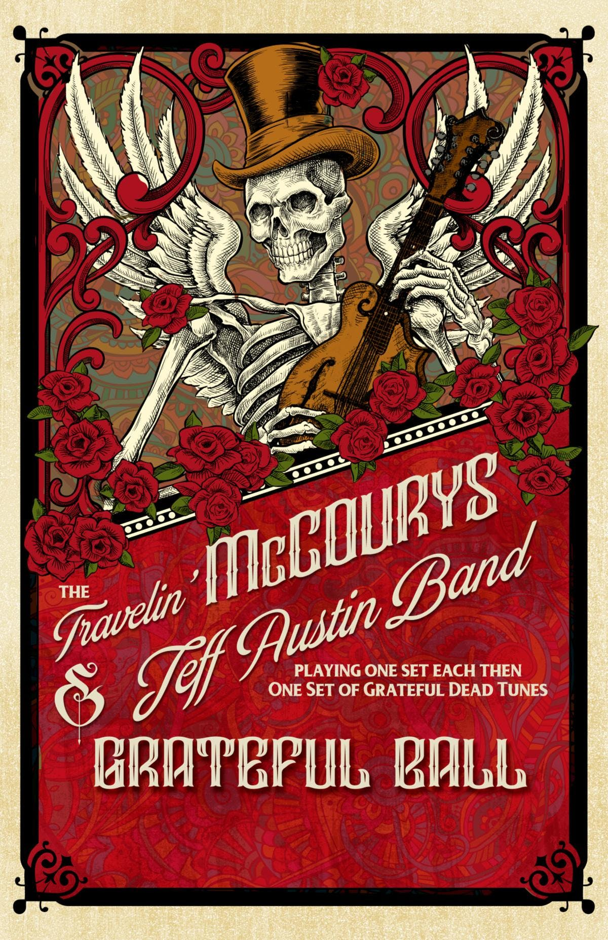 The Grateful Ball feat. The Travelin' McCoury