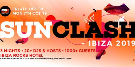 SunClash Ibiza Weekender tickets