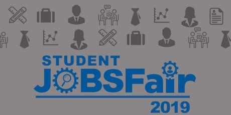 UCLAN Student Jobs Fair tickets