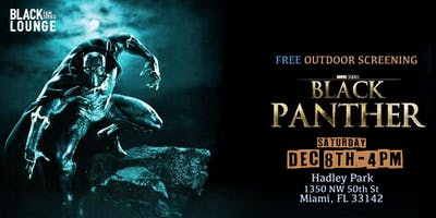 Black Lounge Film Series Presents A Free Outdoor screening of BLACK PANTHER