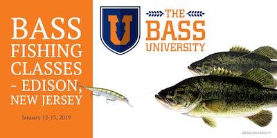 Bass University Fishing Classes - Edison, New Jersey