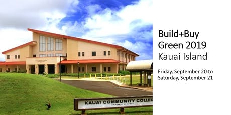 Build+Buy Green 2019 Hawaii tickets
