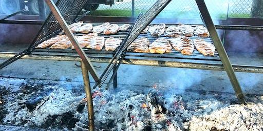 Salmon BBQ Dinner